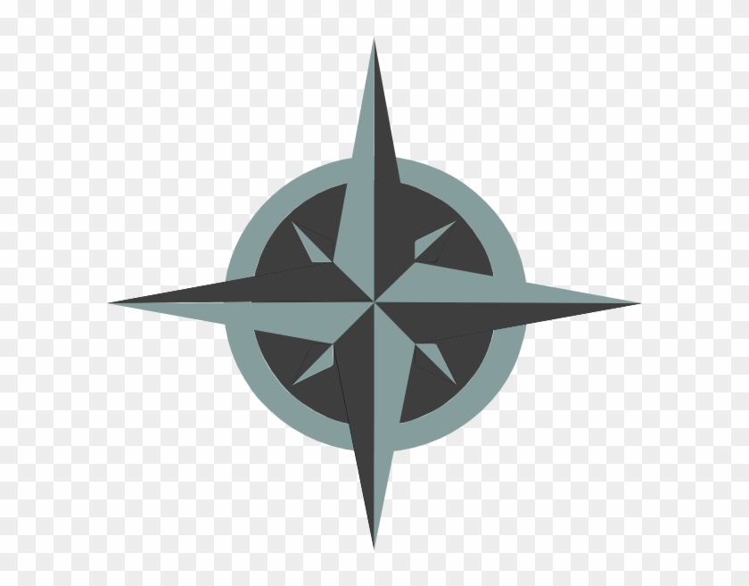White Compass Rose Svg Clip Arts 600 X 577 Px - White Compass Rose Png #517179