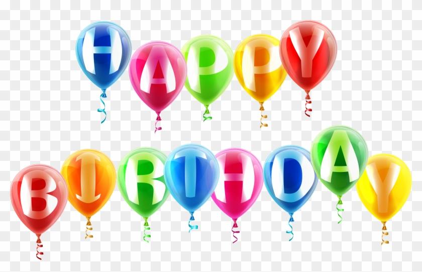 Happy Birthday Balloon Clip Art 517325