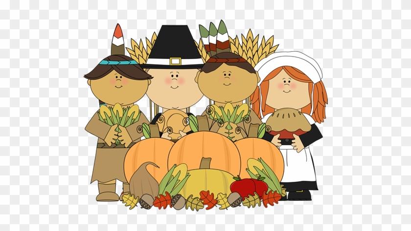Preschool Thanksgiving Cliparts