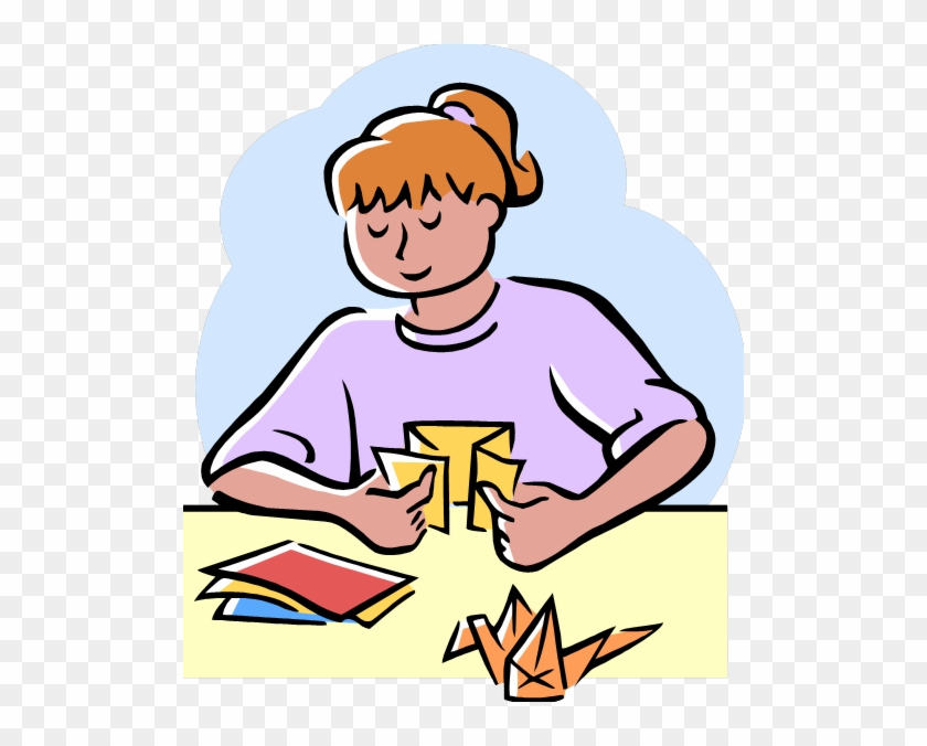 Do You Like To Make Paper Airplanes, Origami, And Other - Creating Clipart #518020