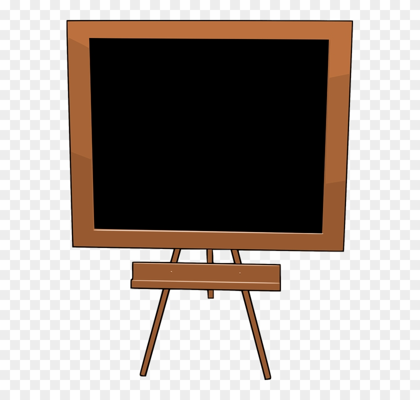 Blackboard Clipart Transparent - Clipart Image Of Blackboard #518099