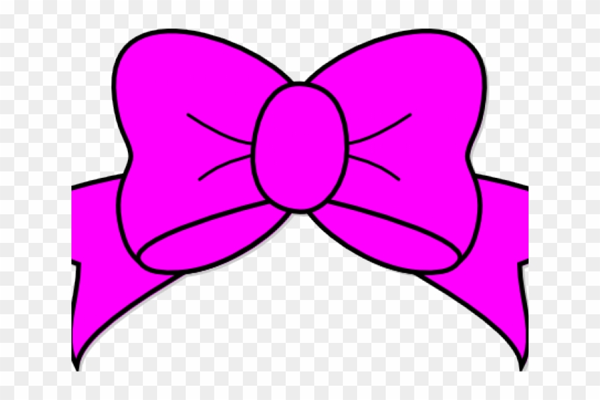 Clip Art Pink Ribbon - Pink Hair Bow Clip Art - Free Transparent PNG Clipart  Images Download