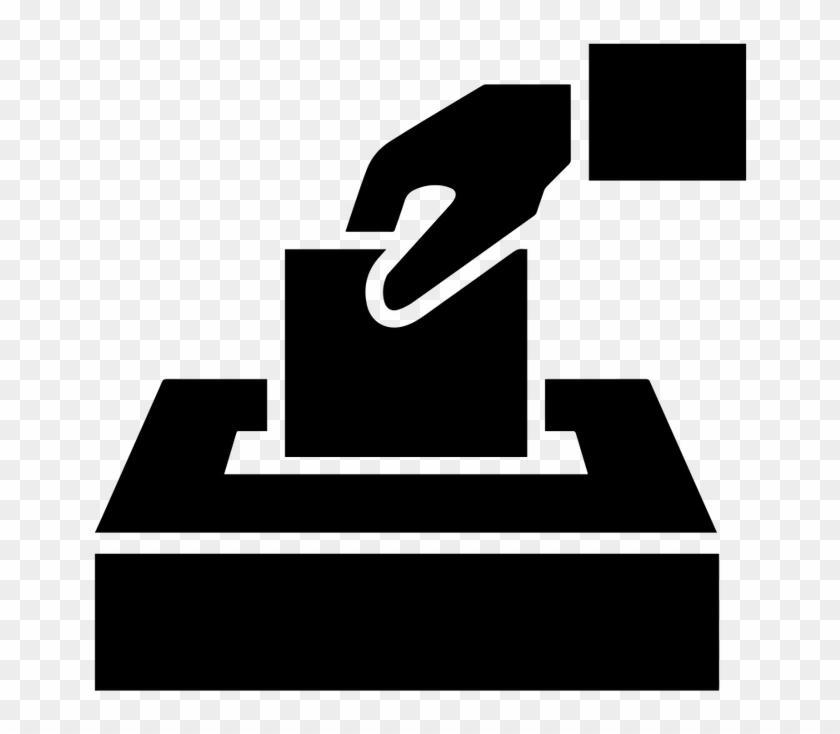 Ballot Box - Voting Black And White #518327