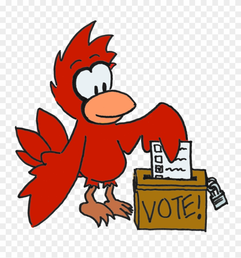 A Cardinal Casts His Paper Ballot In An Old-fashioned - Voting #518390