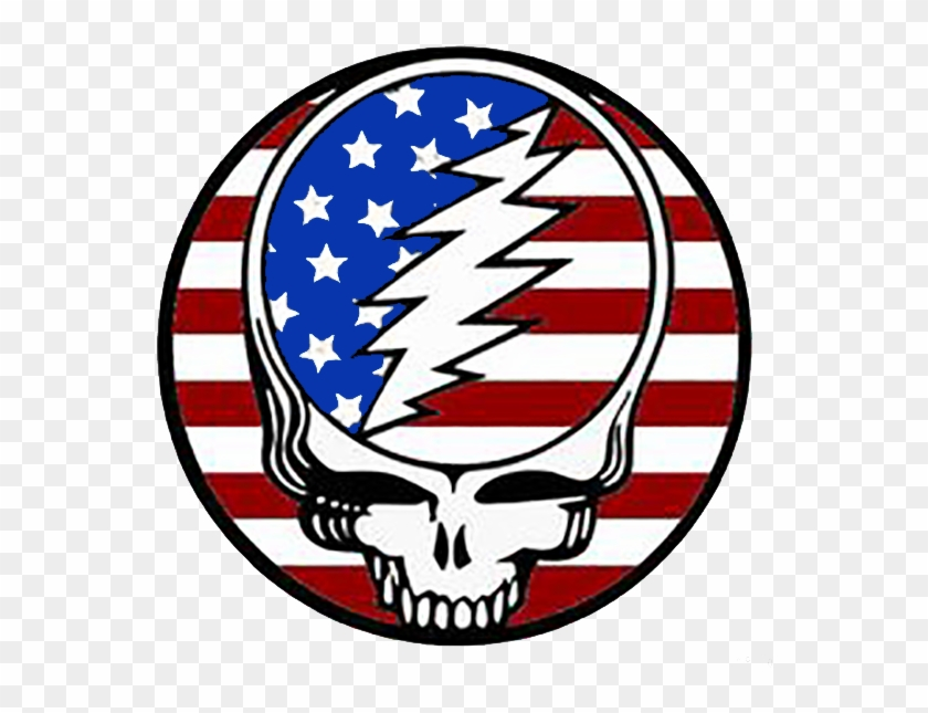Grateful Dead Bean Bears Patriotic Theme Freedom And - Grateful Dead Steal Your Face #518858