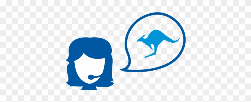 Australian Technical Support - Australia Flag Kangaroo Bag #519035