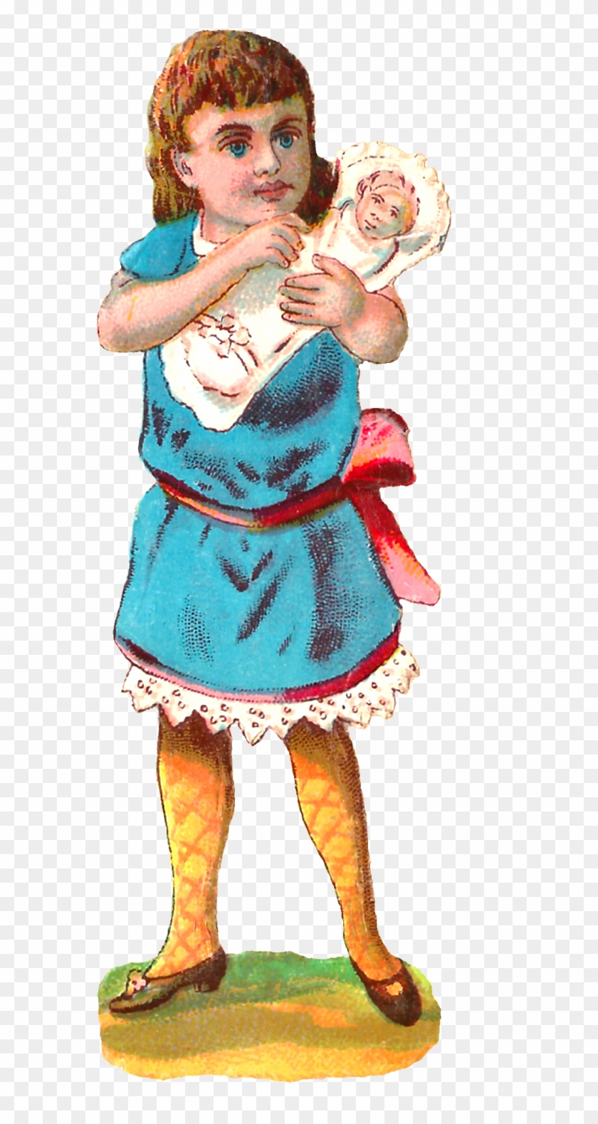 I Created These Digital Girl Clip Arts From Victorian - Illustration #519070