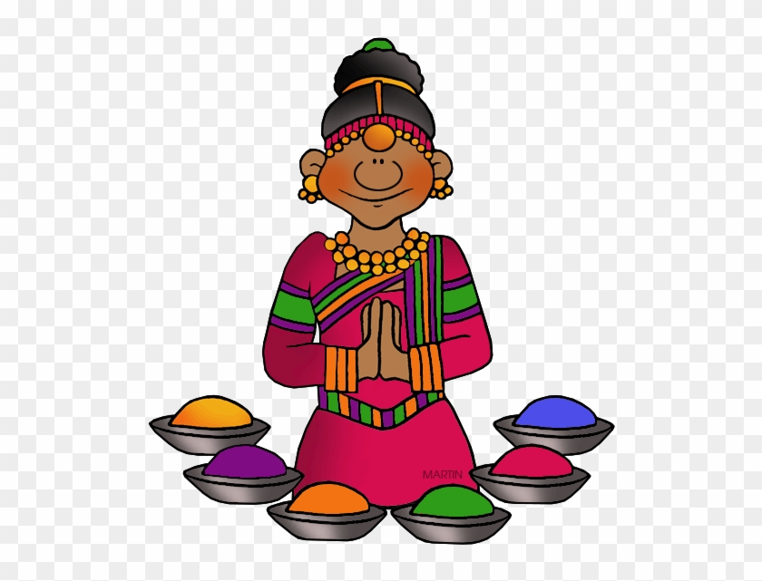 Holi - Hindu Clipart #519132