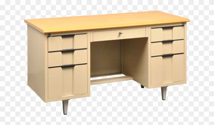Model An Office Cabinet And Desk By