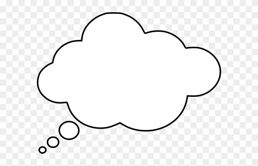 Thinking Bubble Clip Art - Thought Bubble 3d Png #520364