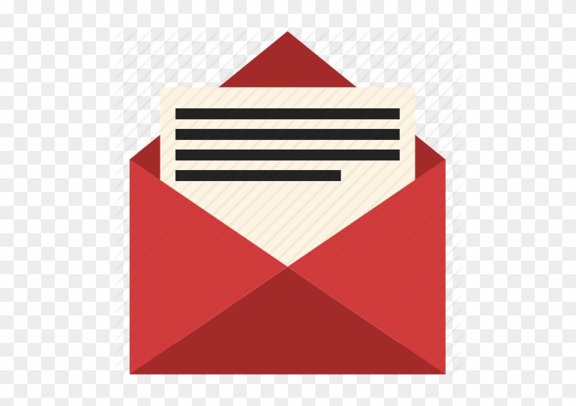 Open E Mail Message Envelope Symbol Of Ios 7 Interface Letter In