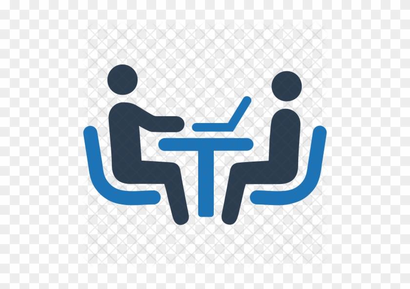 Job Interview Icon - Interview Icon #520478