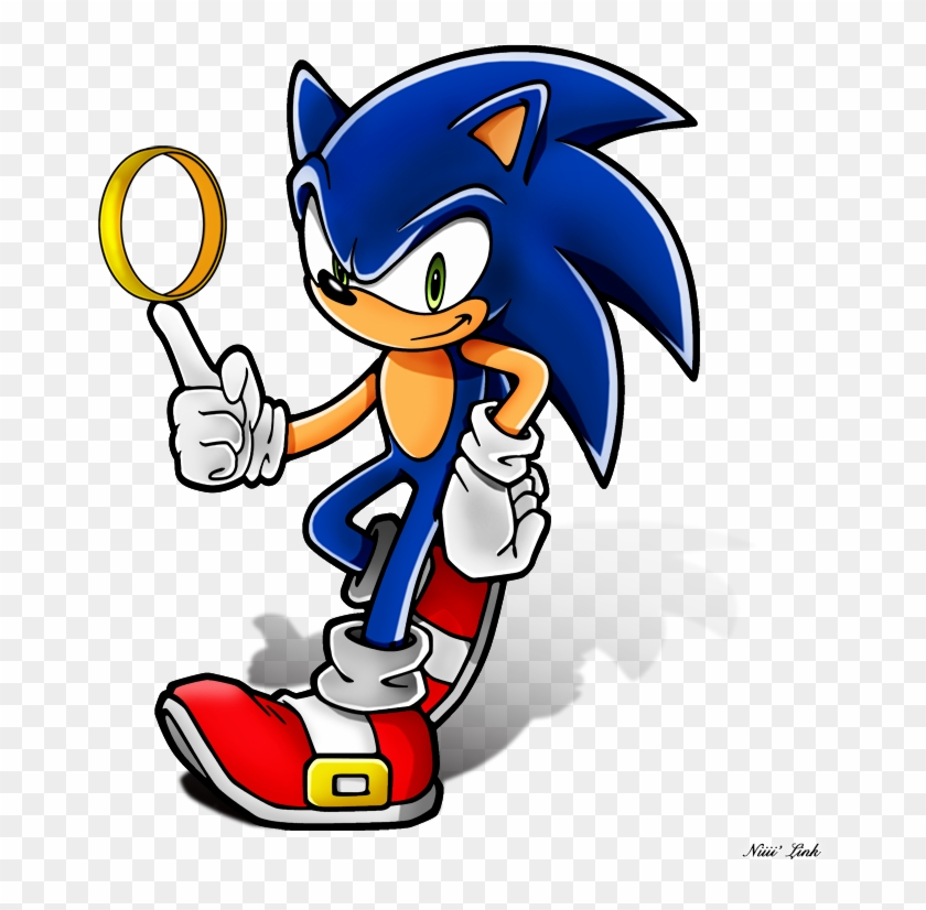 Sonic The Real Lord Of The Ring By Niiii Link Sonic The Hedgehog Characters Free Transparent Png Clipart Images Download