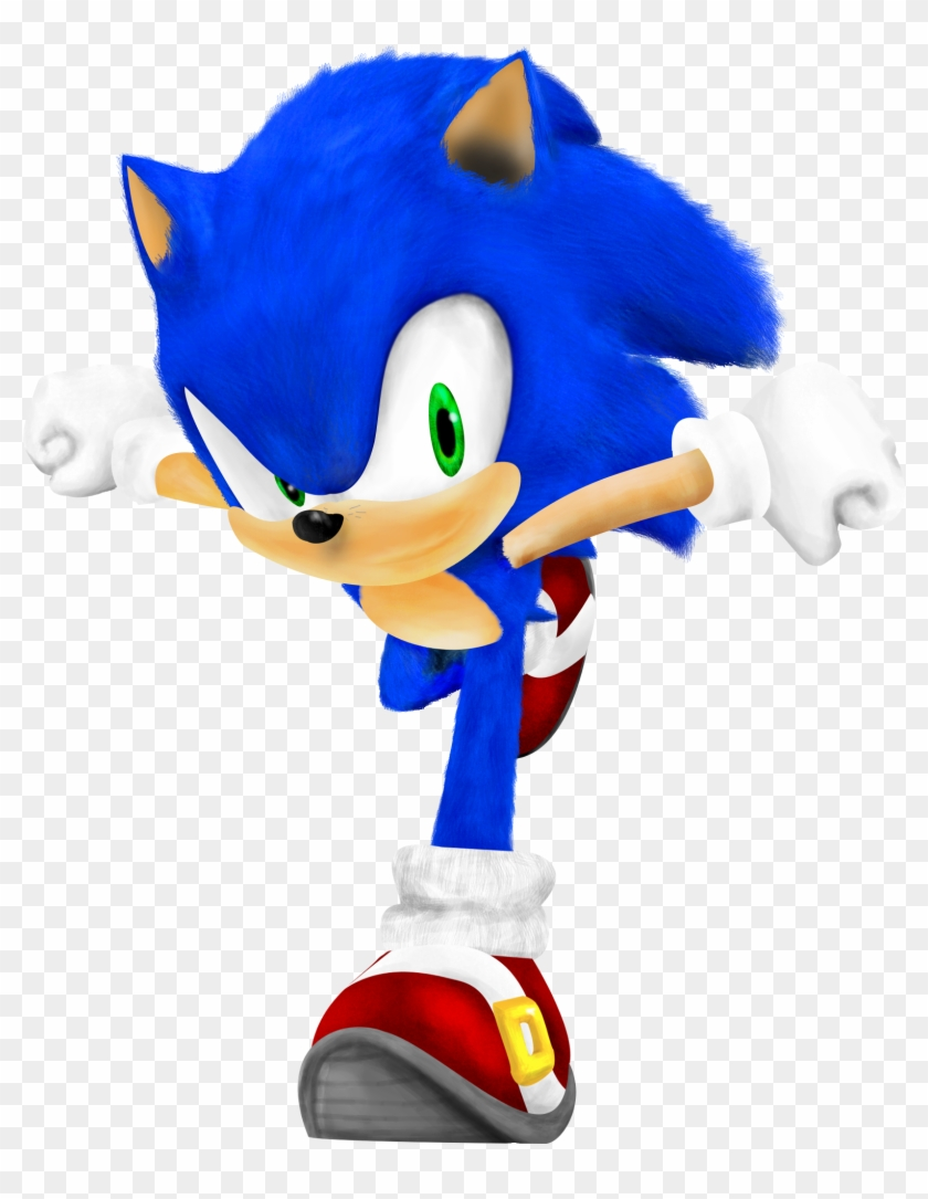 Realistic Sonic By Paleop On Deviantart Realistic Sonic The Hedgehog Free Transparent Png Clipart Images Download