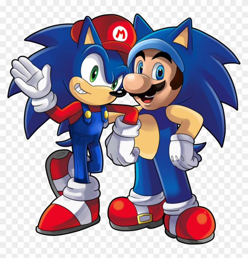 Mario & Sonic At The Olympic Games Mario & Sonic At - Sonic The