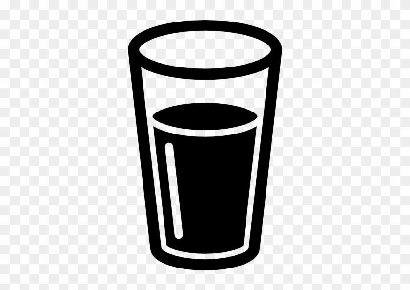 Glass Computer Icons Cup Drinking Water Clip Art - Glass Of Water Icon #522117