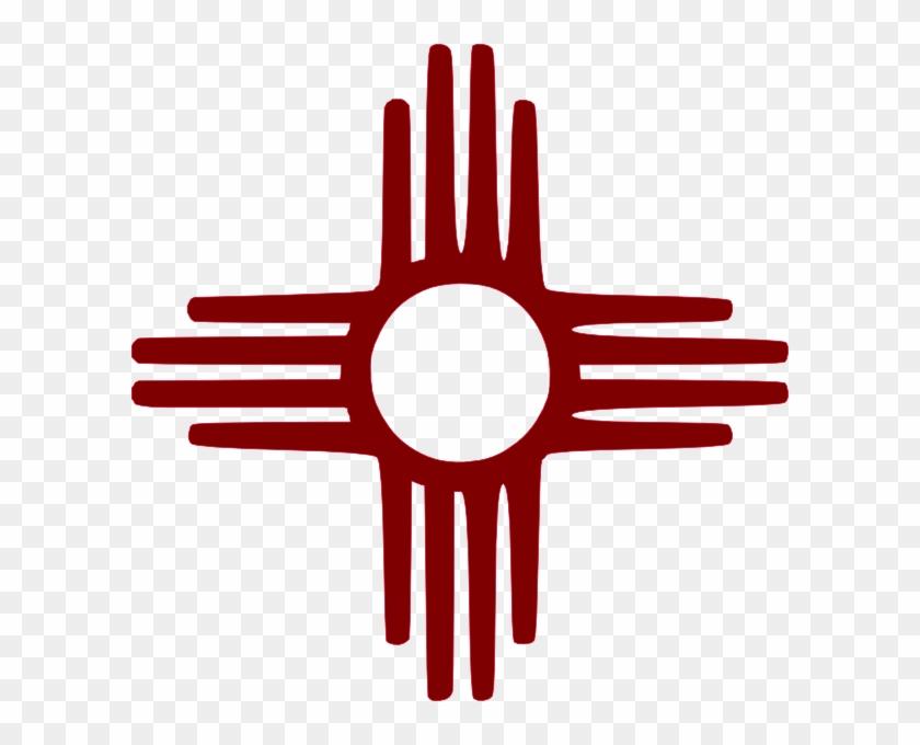 Zia Symbol Maroon Clip Art At Clker New Mexico Zia Symbol Png