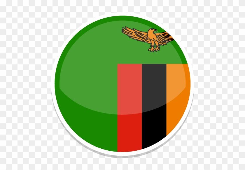 ไอคอนแซมเบีย - Zambia Flag #522519