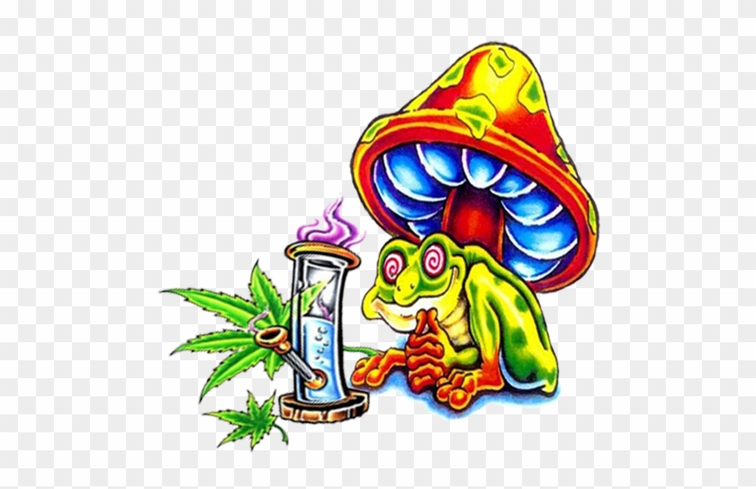 Cool Stoner Frog By Metalocalypse420 Cool Stoner Free Transparent Png Clipart Images Download