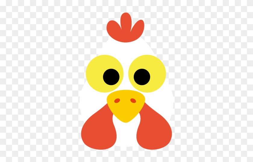 graphic about Chicken Printable known as Printable Hen Mask - No cost Clear PNG Clipart Pictures
