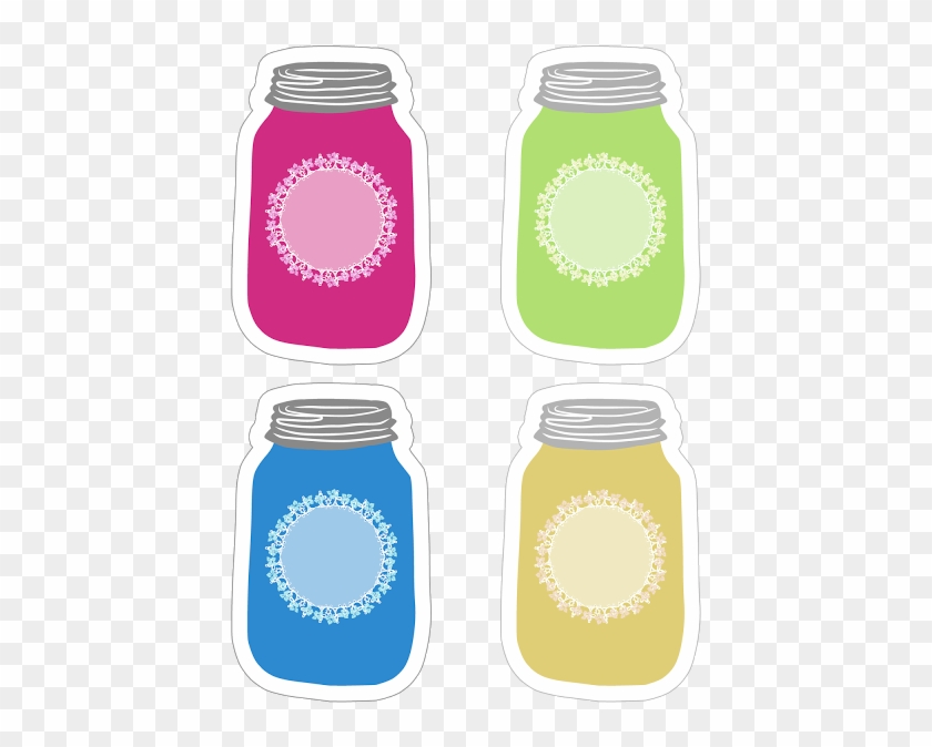graphic relating to Printable Mason Jar titled Vibrant Mason Jar Tag Variety Absolutely free Printable - Mason Jar