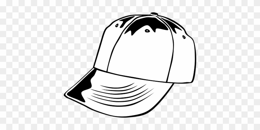Hat Baseball Cap Clothing Sports Head Wear - Baseball Cap Clip Art #522695
