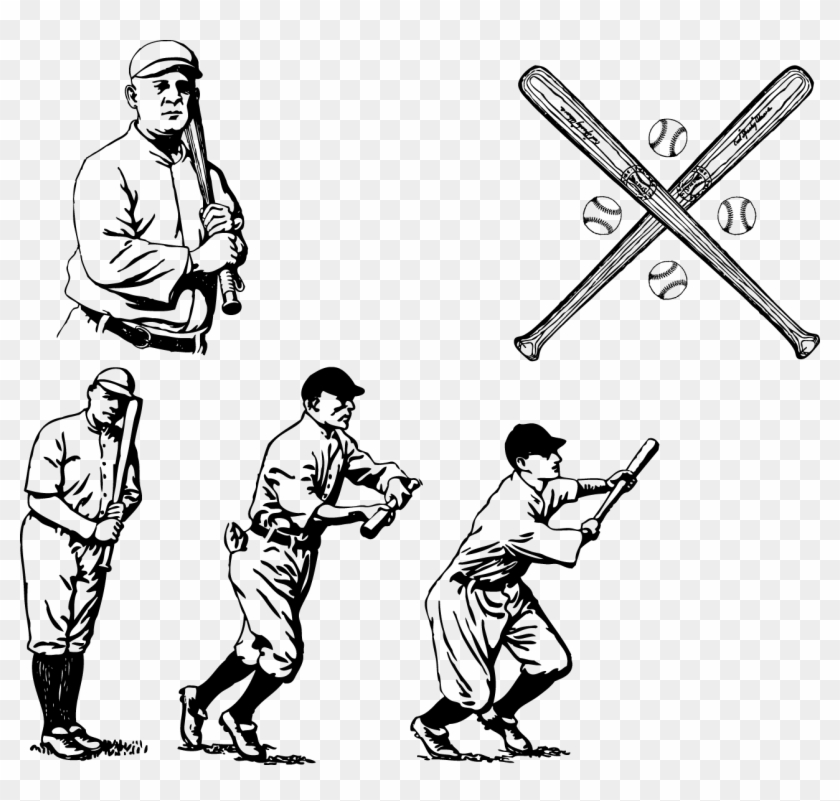 Baseball Bat Vintage Base Ball Clip Art Baseball Bat Vintage Base