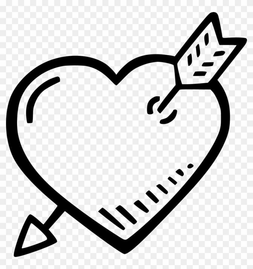 Heart And Arrow Comments - Valentine's Day #522768
