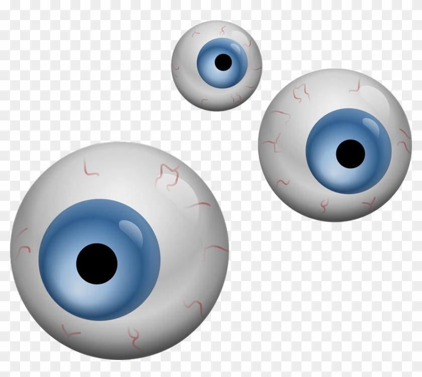 Free Eyeball Clipart - Eyeballs Clipart #522927