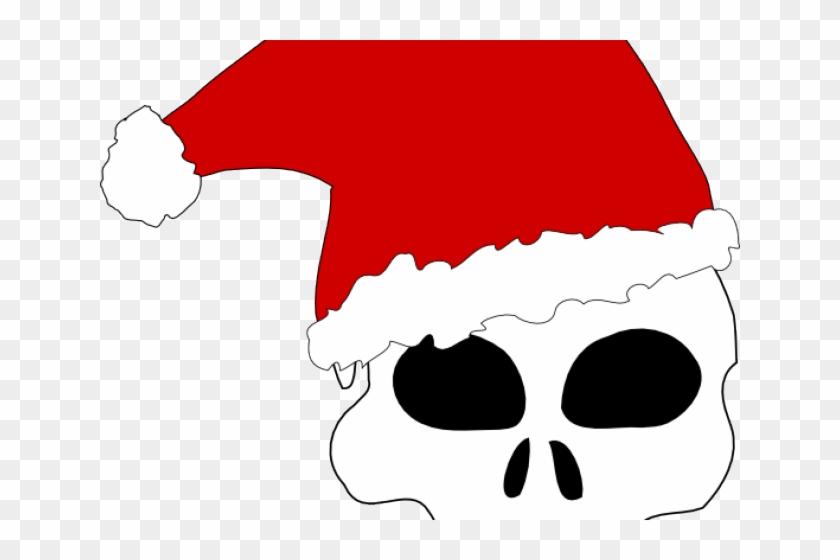 Evil Clipart Christmas - Santa Hat Clip Art #523833