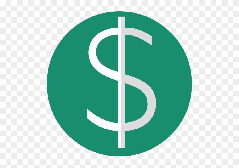 Currency, Foreign, Dollar, Dollar, Euro, Finance, Bankroll - Dollar Sign Flat Icon Png #523978