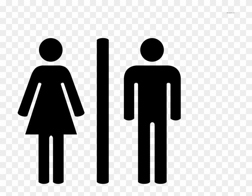 Male Female Bathroom Symbols