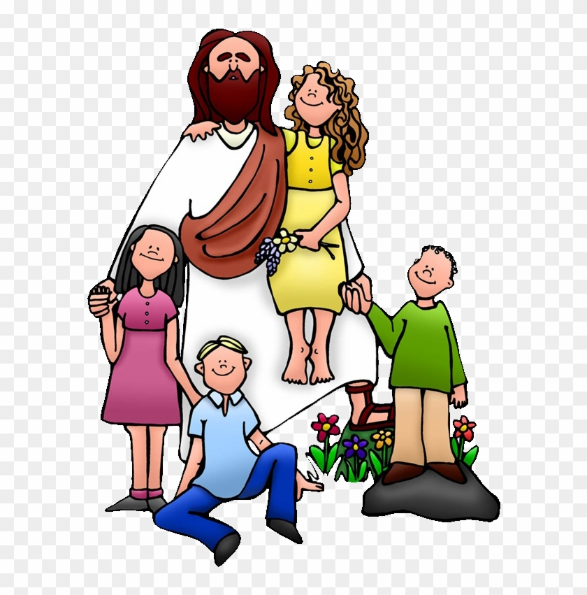Teaching Of Jesus About Little Children Clip Art - Teaching Of Jesus About Little Children Clip Art #524556