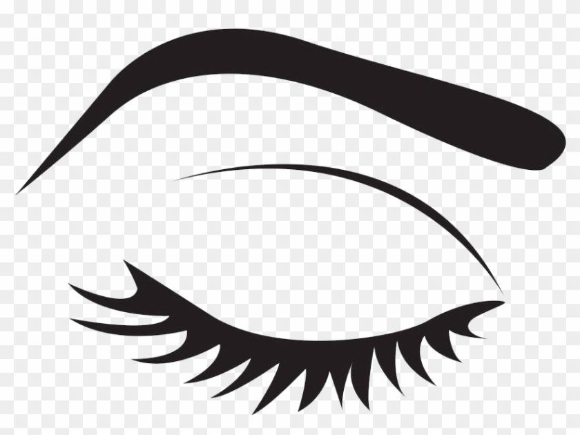Eyelash Extensions Stock Photography Clip Art - Eyebrow Silhouette #524555