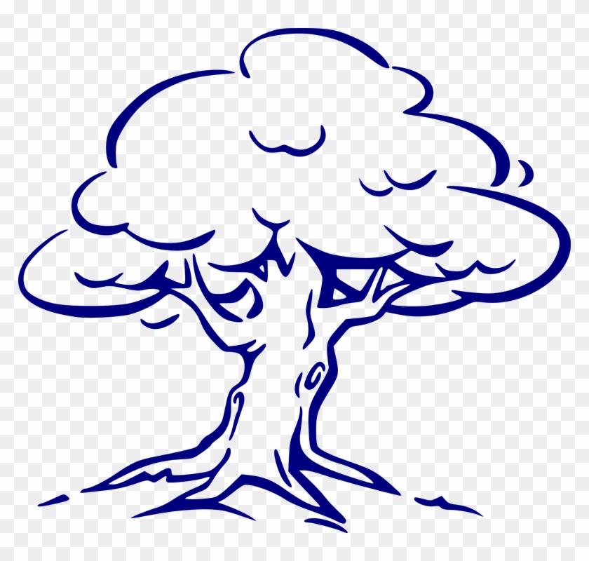 Windy Cliparts 12, Buy Clip Art - Oak Tree Drawing Easy #524800