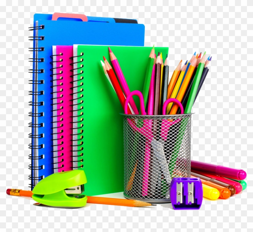 School Supplies Stationery Notebook Resource Room - Back To School Supplies Transparent #525200