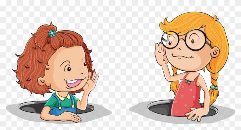 Children Listening Clip Art Download - Speak And Listen Clipart - Free  Transparent PNG Clipart Images Download