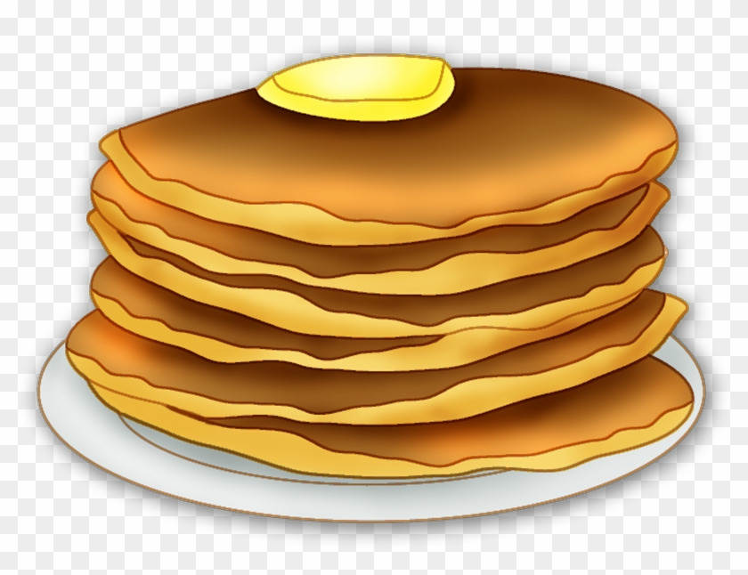 Pancake Clipart - Pancakes Clipart Transparent Background #526160