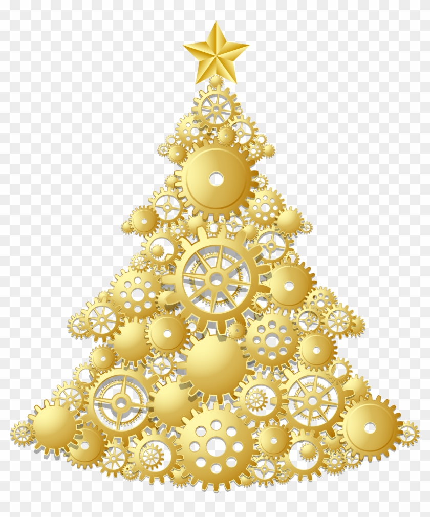Pix For Christmas Tree Star Png Gold Christmas Tree Png Free