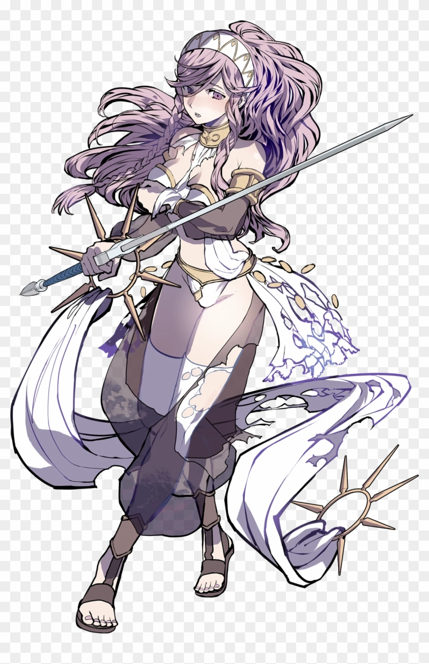 More Concerned About Keeping Her Modesty Than Her Life - Fire Emblem Heroes Olivia #526581