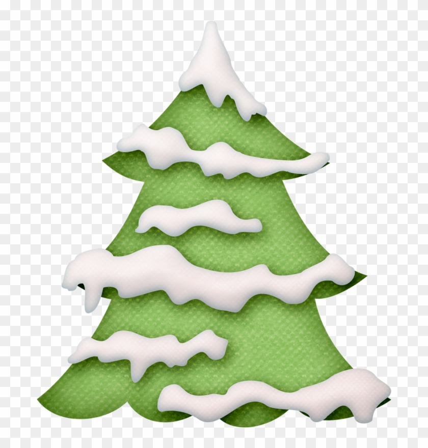 Christmas Tree Clip Art - Christmas Tree Snow Clip Art #526631