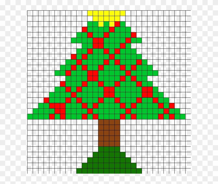 Perler Bead Patterns Christmas.Christmas Tree Perler Bead Pattern Christmas Tree Perler