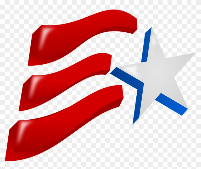 Grab This Free Clip Art And Celebrate This 4th Of July - Independence Day Clip Art #527028