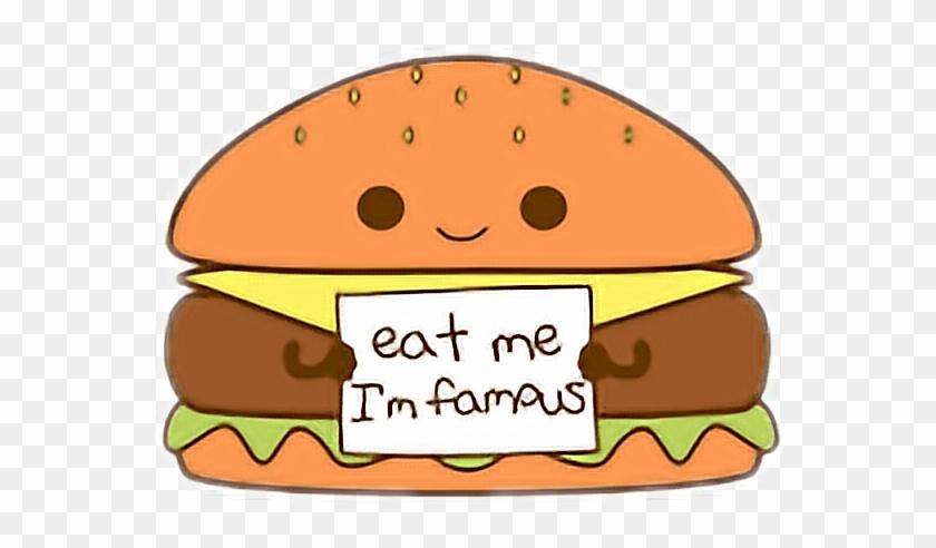 Cute Kawaii Food Burger Hamburger Cheesburger Kawaii