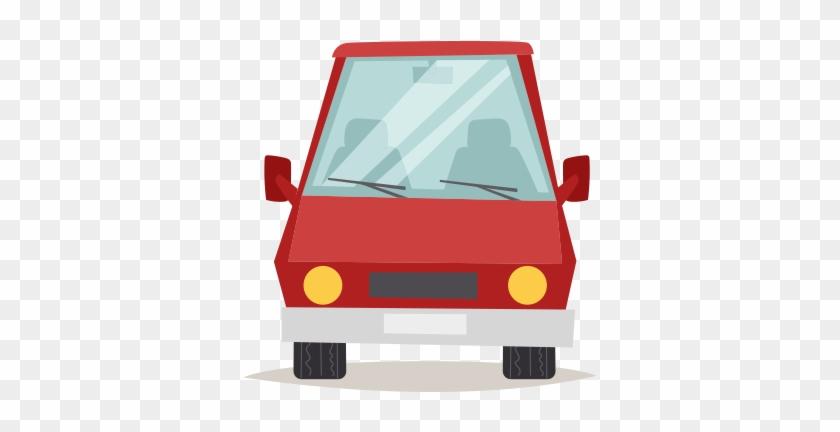 Truck Art Car Front View Cartoon Free Transparent Png Clipart