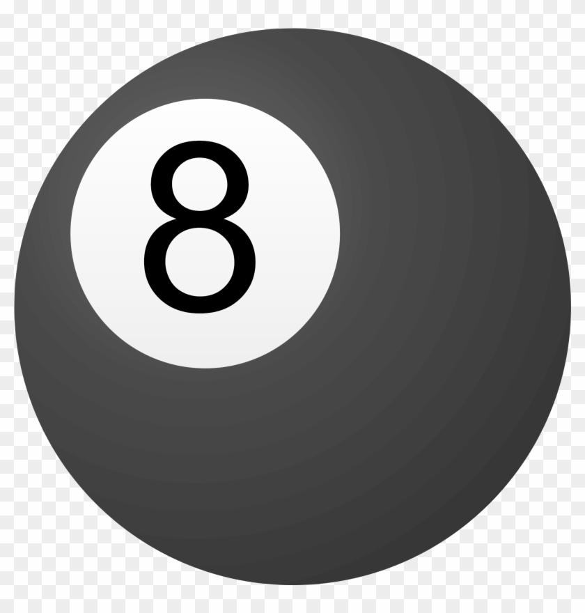Clipart 8 Ball - 8 Ball Pool Clipart #527742