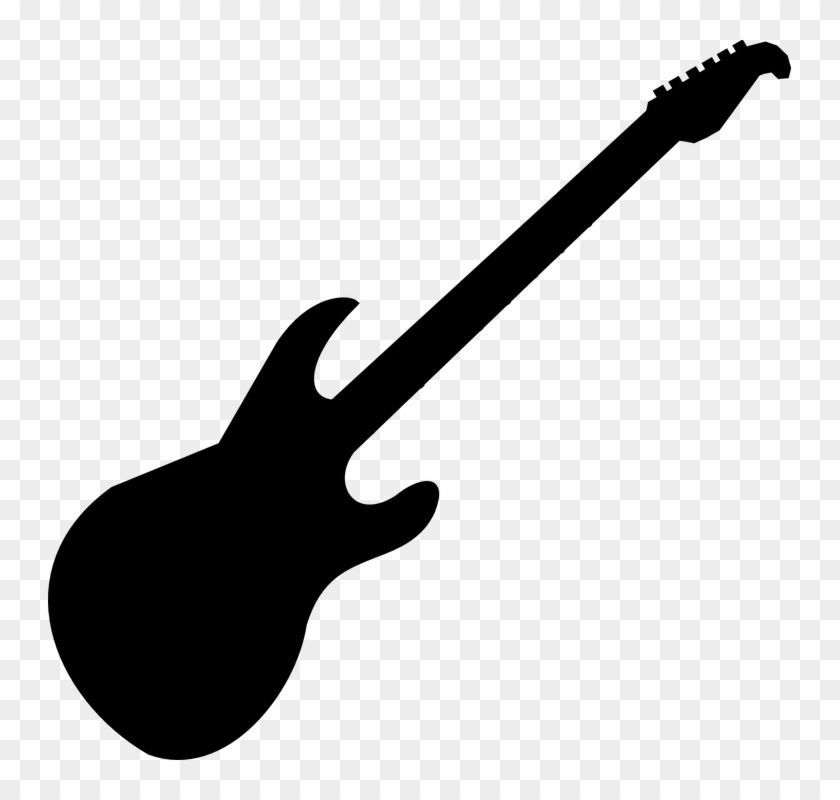 Guitar Clipart Black And White Clipart Panda Free Clipart Electric