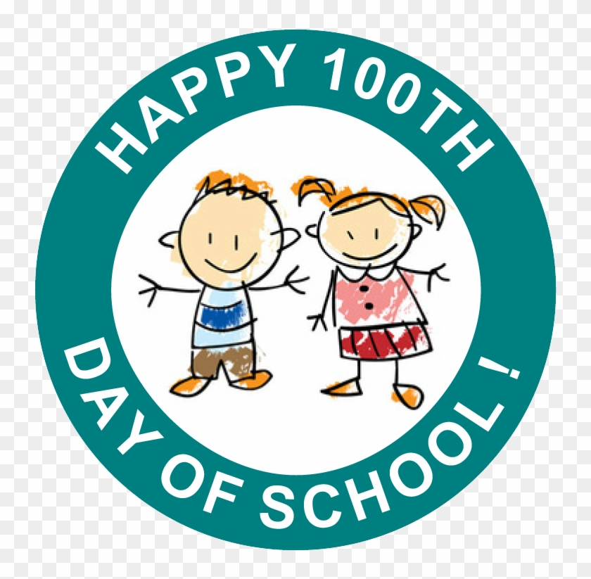 Happy 100 Days Of School Free Printable Stickers - Bevill State