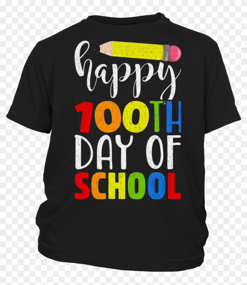 Happy 100th Day Of School Shirt For Teacher Or Child - 100 Day Of School Shirt Teacher #529388