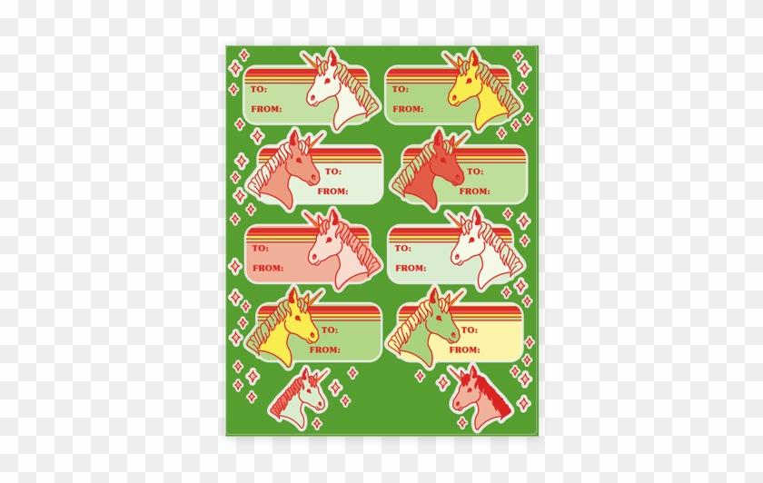 Christmas Gift Tag Stickers - Christmas Gift #529405